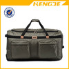 mulit-pocket rolling waterproof polyester trolley travel luggage bag
