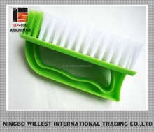 Durable hard bristle PP clothing brush for hand washing