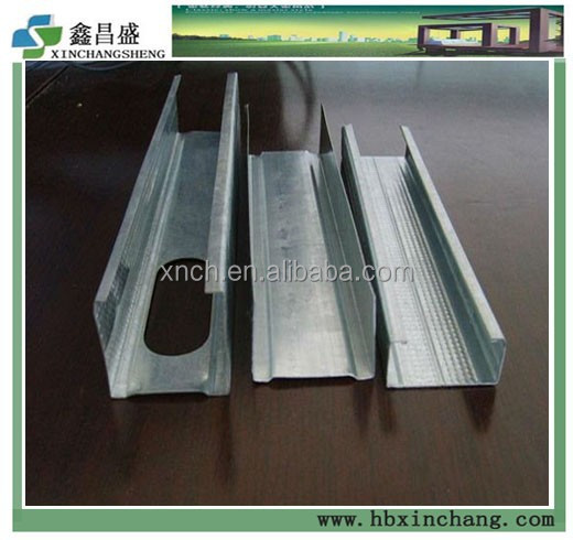 High tensile galvanized steel stud sizes metric