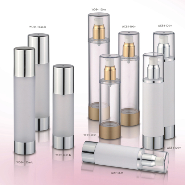 competitive price cosmetic water airless bottle acrylic