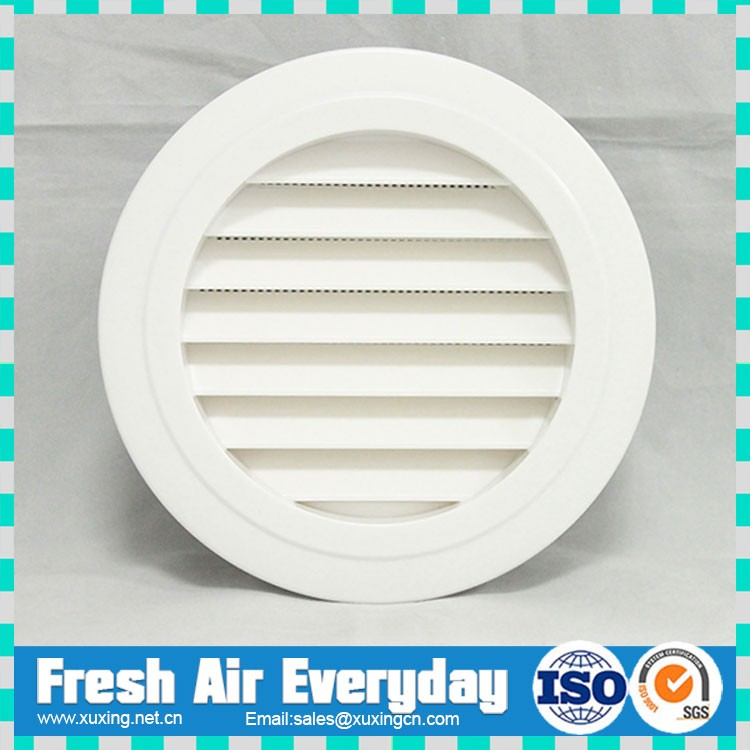 home use ceiling wall ABS plastic outlet inlet exhaust fan fresh air grille