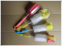 household cleaning small plastic baby bottle cleaning brush bb004