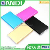 Low price slim power bank portable powerbank 10000mah for all kinds of smart phone
