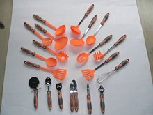 Food grade hot sell nylon kitchen cooking tools set kitchen accessories