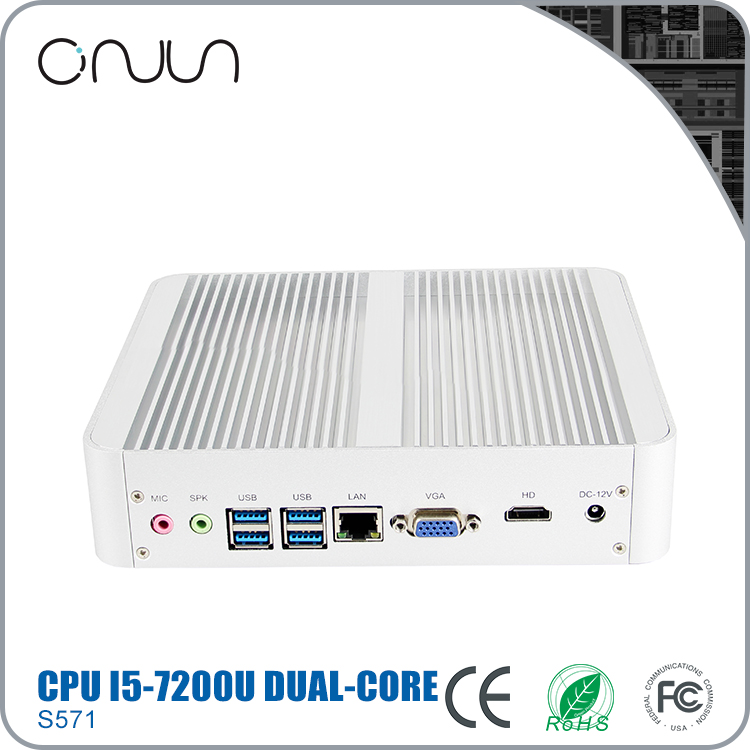 Latest guangzhou computer hardware fanless embedded pc