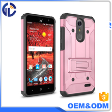 low price china mobile 2 in 1 phone hybrid shockproof case for zte grand x4