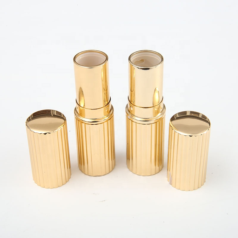 RTS Round Luxury Mini Rose Gold Unique Aluminum Empty Lipstick <strong>Tube</strong>