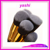 YASHI Beauty Cruelty Free 10pc Kabuki Makeup Brush Cosmetics Brush kit