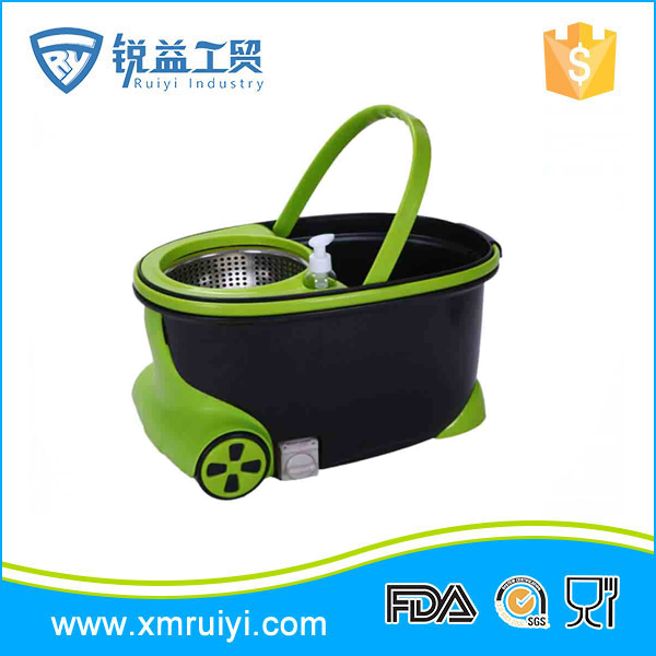 New design wholesale custom cleaning set cheap magic mop bucket