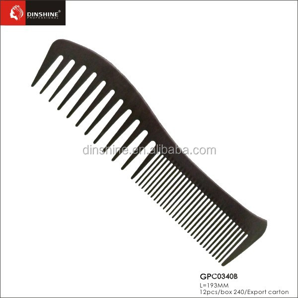 2015 Professional barber wide tooth comb for wholesale