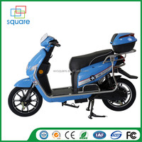 Dc brushless electric motorcycle for sale with pedals 12inch Electric Scooter Moped