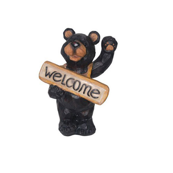 New Hotsale Welcome Bear LED Light Lawn Decoration