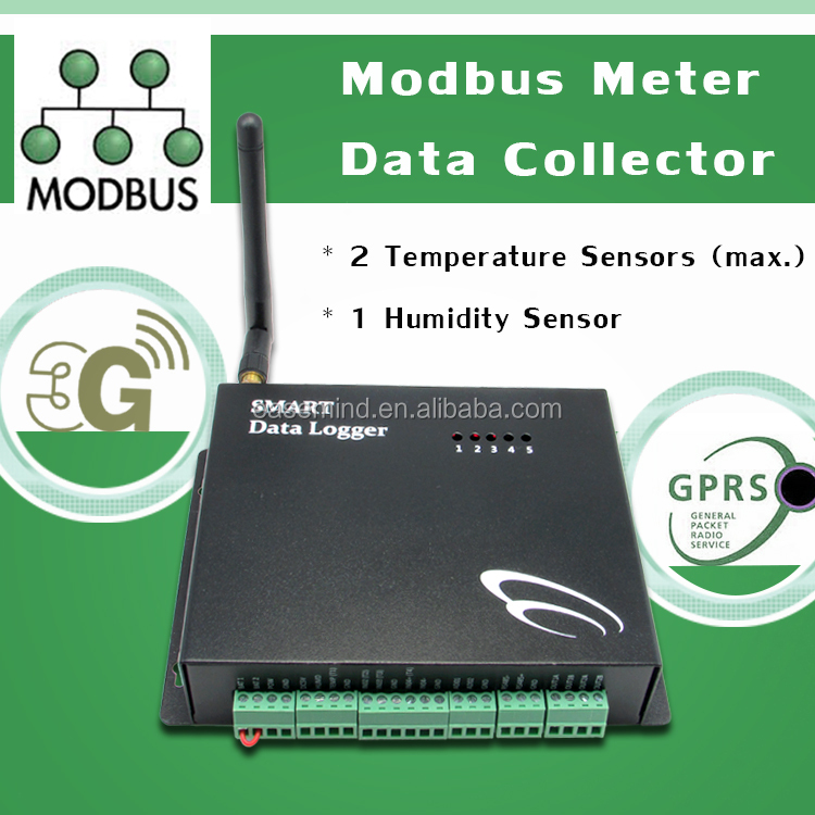 digital pulse counter Modbus Meter Data Collector 3g remote controls