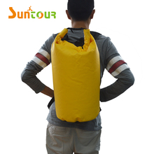 SUNTOUR Waterproof Dry Bag Backpack 20L Roll Top Sack Keeps Gear Dry for Kayaking Rafting Boating Swimming Camping