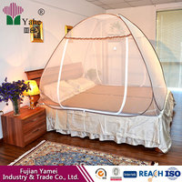 Wholesale retail speed portable foldable magic mosquito net white encrypted stainless steel automatic mosquito nets