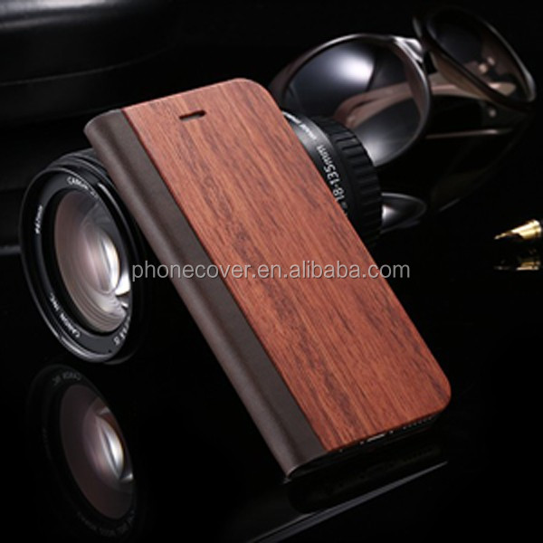 Genuine filp wooden cell phone cases from China ,Alibaba trending products