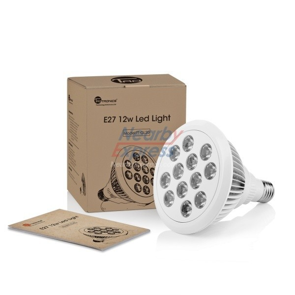 led <strong>spotlight</strong> e27 grow lamp LED 12W 800lm