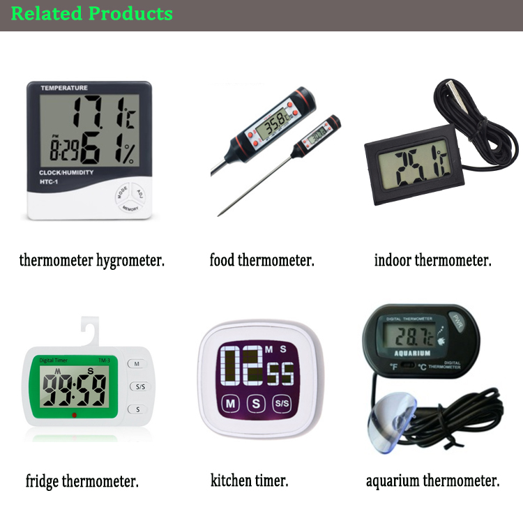 Led hot selling Instant-Read Thermometer for oven