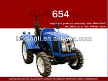 QLN-654 Farm tractor 65hp 4wd with snow blower for sale. Check here to get tractor price list