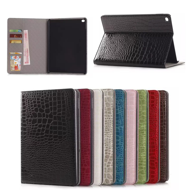 flip leather case with ID card slot cover for iPad air2 , for ipad air2 case , PU leather tablet case