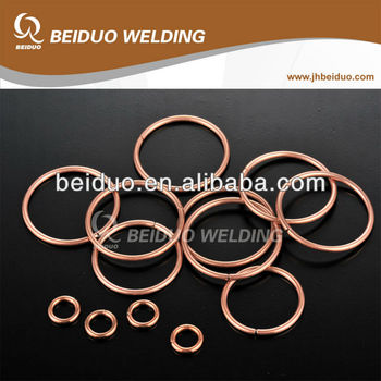 Brazing Rings Copper alloy Welding ring BCu93P BCu86P