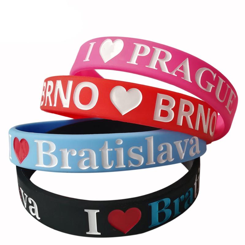 silicon bracelet wristband