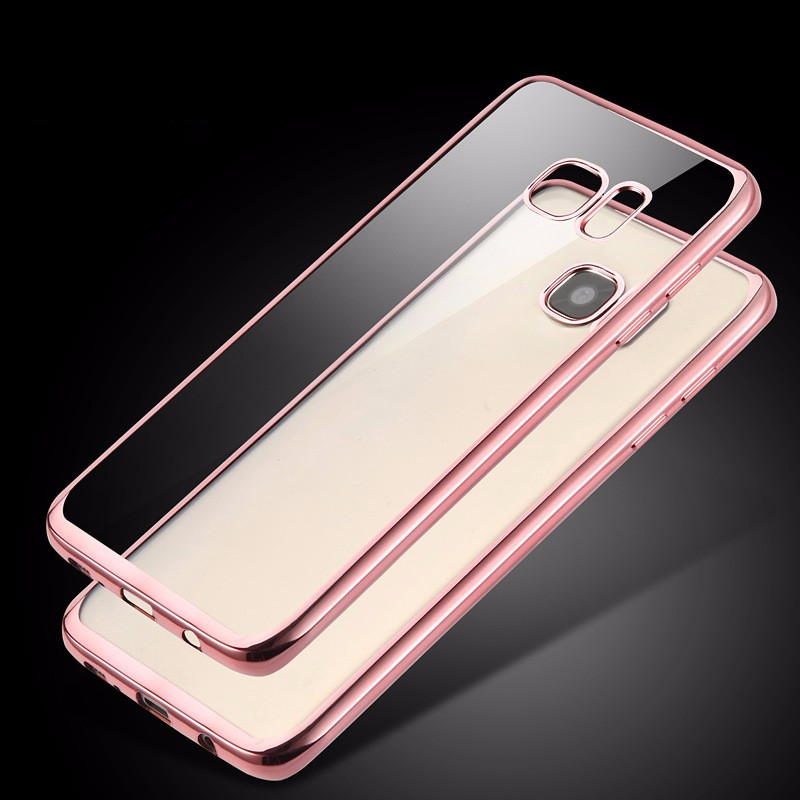 Blank transparent mobile phone case cover for samsung galaxy s6
