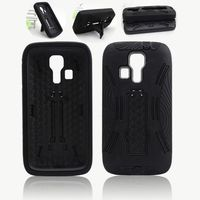 robot shell heavy duty defender combo hybrid case for Samsung Galaxy S4 Active i537