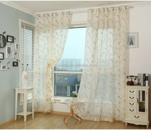 Gold High Quality New Design Popular Sheer Burnout Curtain Turkey