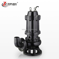 electric home submersible sewage pump systems with water pump coupling