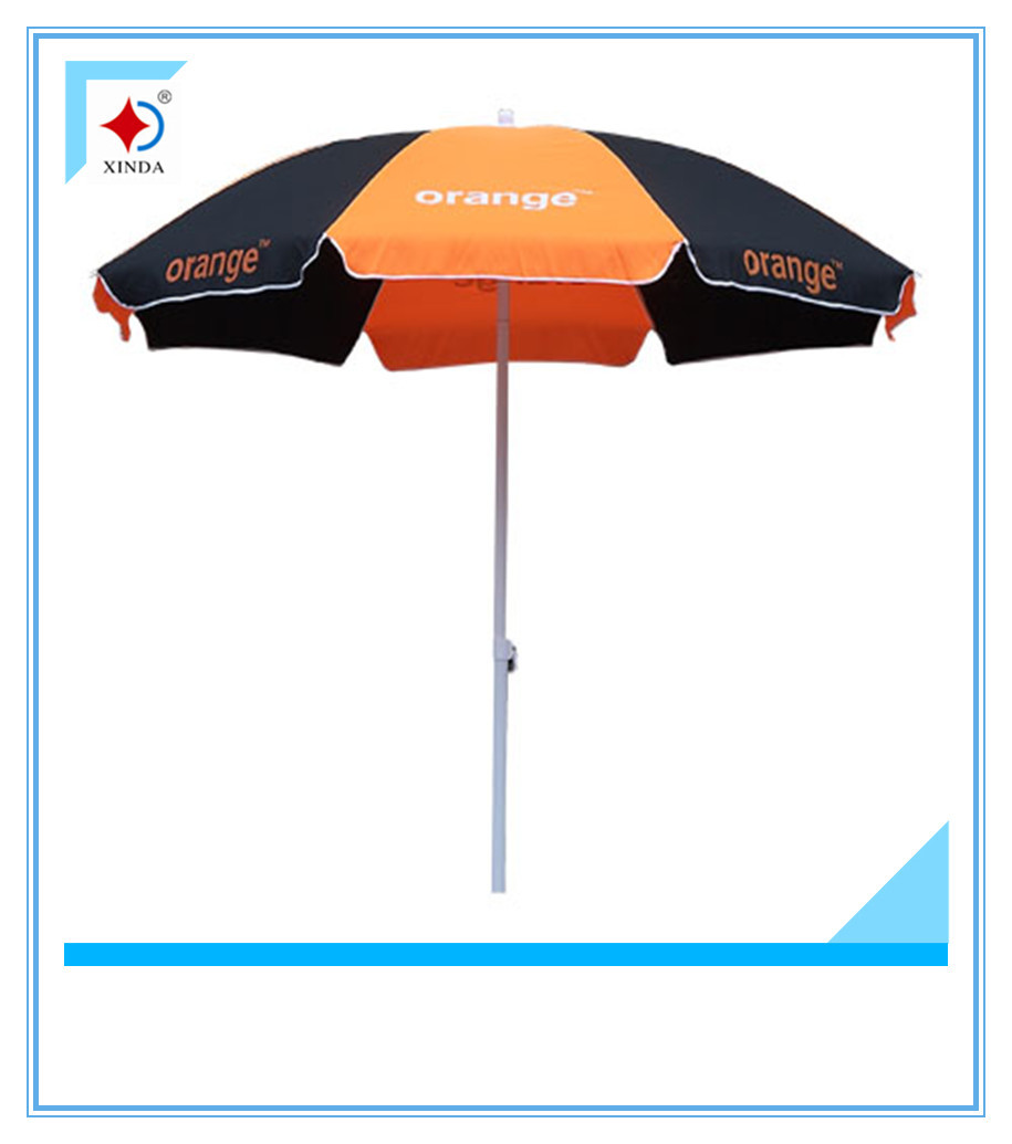 250cm promotional advertising umbrella with logo,large outdoor umbrella