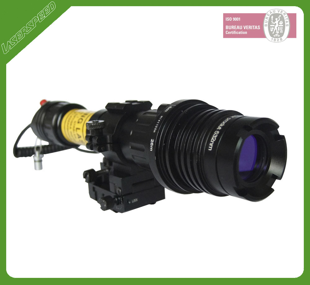 m16 100mw aiming green laser sight for picatinny rail