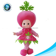 LOW MOQ baby fruit doll