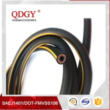 dot sae j1401 fmvss 106 flexible rubber hose pipe with high quality