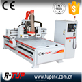 Factory price Italy HSD 9kw spindle 8 tools auto tool changer vacuum desktop 1325 wood atc cnc router machine for woodworking