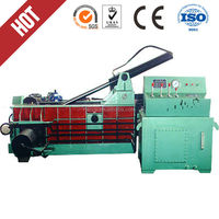 new design waste Metal baling press machine/household garbage baler