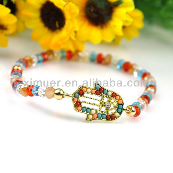 Fashion colorful mexican beaded bracelets
