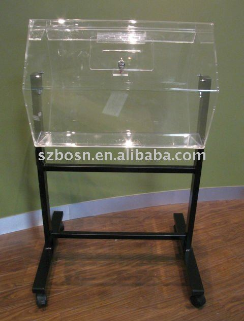 Acrylic Lottery Box,Perspex Lucky Draw Box,Lucite Raffle Drum