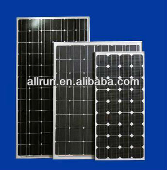 full power A grade High efficiency cheap price 12v 24v 180w mono photovoltaic solar pv panel