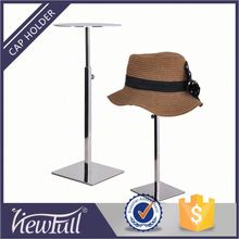 Laser print and silk screan accept hat and tie display stands equipment for boutiques with multi surface finish