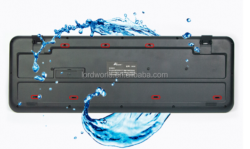 hot selling china OEM factury membrane waterproof 2013 best wired keyboard