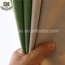 100% polyester texture linen blackout Ready Made curtain
