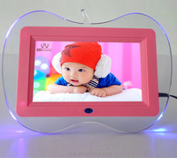 7 inch gift digital photo frame Alarm Clock MP3 MP4 Movie Player