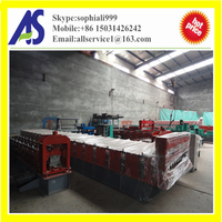High quality automatic color steel roof tiles making machines