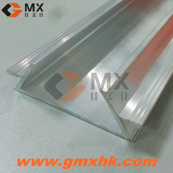 aluminium extrusion profile for plywood kitchen cabinet door handle