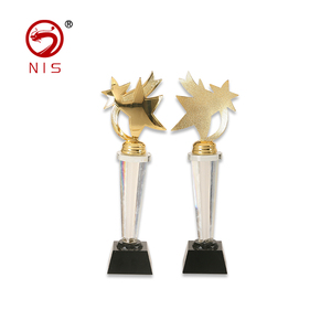 Perfect quality award golden awards star trophy