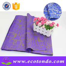 colorful art corrugated paper sheets for flower and gift wrappings