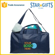 Wholesale Non Woven Low Price Simple Travel Bag With Custom Company Logo