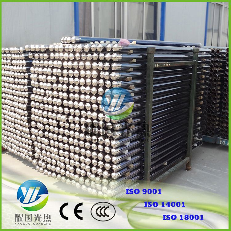3 Target Coating Heat Pipe Swimming Pool Solar Collector Tubes 58*1800 System