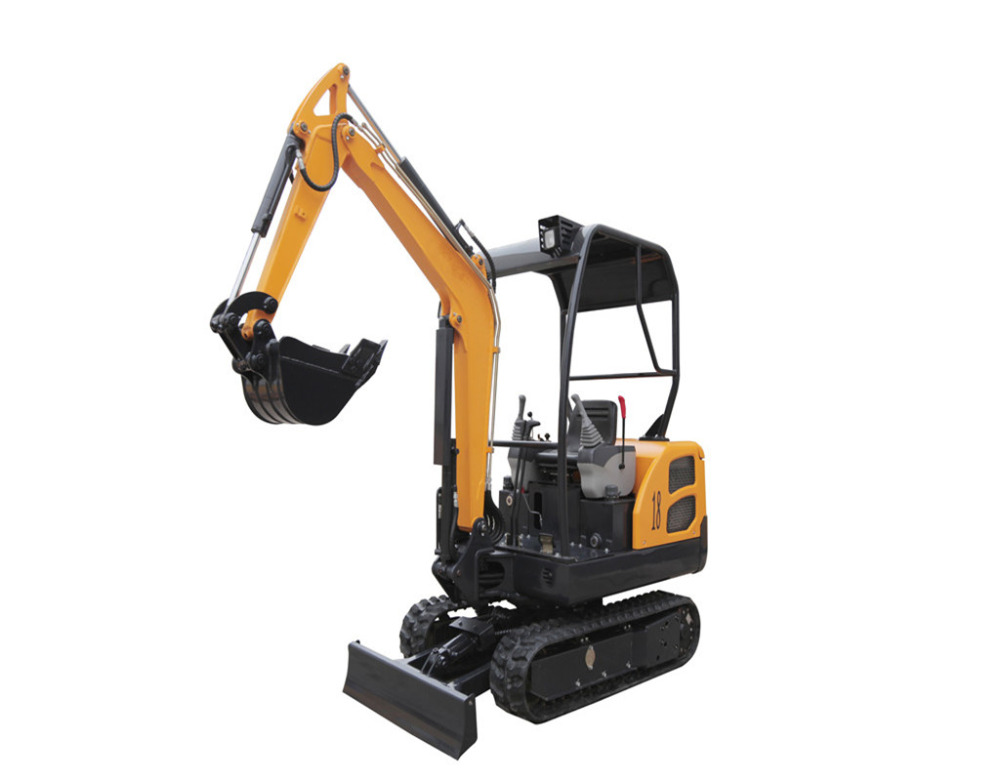 Small and mini 1.8T crawler excavator manufacturer from Shandong China